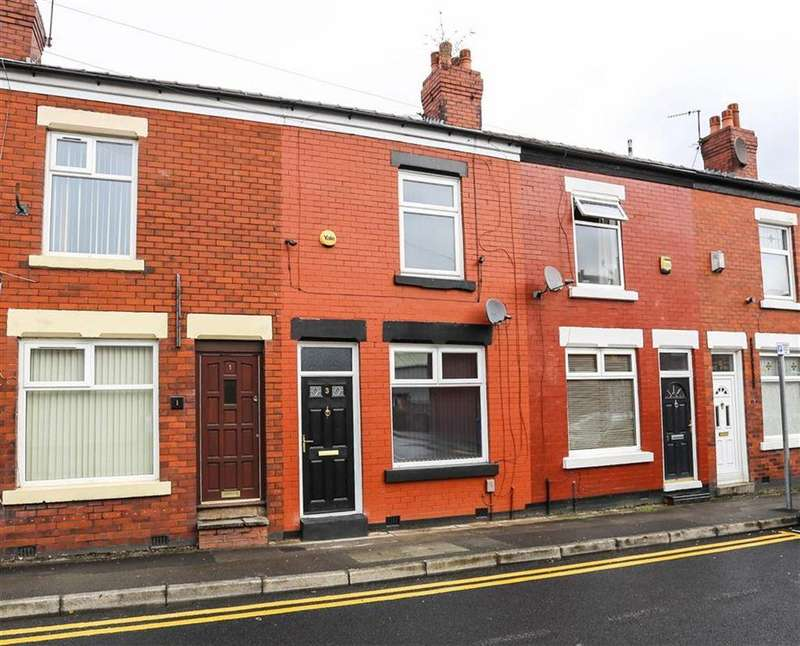 2 Bedrooms Terraced House for sale in Upper Brook Street, Stockport Centre, Cheshire
