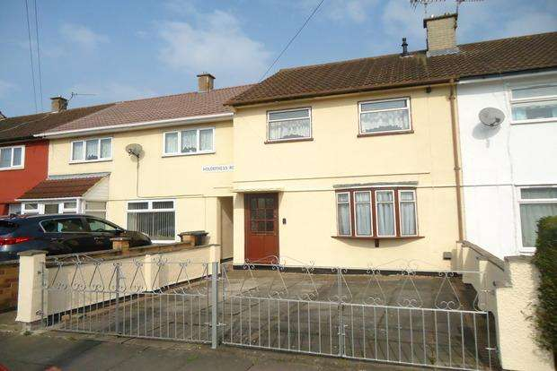 3 Bedrooms Terraced House for sale in Holderness Road, Mowmacre Hill, Leicester, LE4