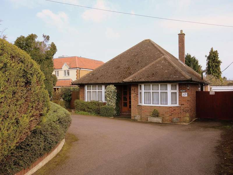 3 Bedrooms Detached Bungalow for sale in Leighton Road, Toddington, Dunstable, LU5