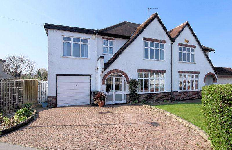 4 Bedrooms Semi Detached House for sale in Bennetts Way, Shirley