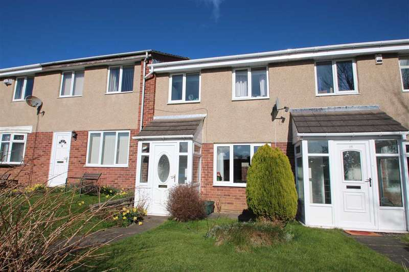 3 Bedrooms Terraced House for sale in Abbotside Close, Ouston, Chester-le-Street,