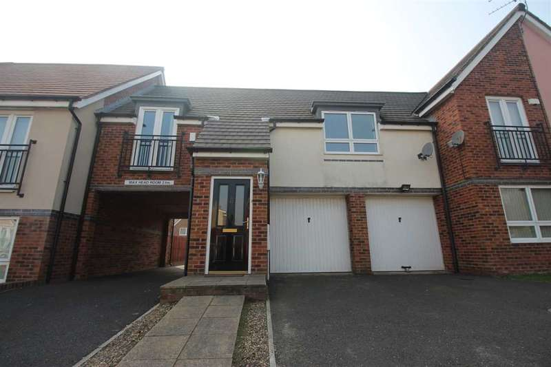 2 Bedrooms Flat for sale in Howard Walk, Barley Rise, Ashington