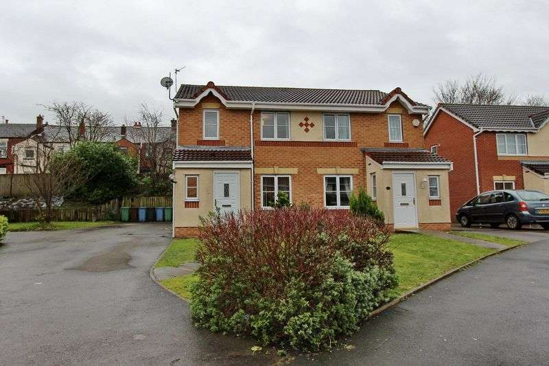 3 Bedrooms Semi Detached House for sale in Woodvale Road, Radcliffe, Manchester