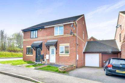 2 Bedrooms Semi Detached House for sale in Sweetlands Corner, Kents Hill, Milton Keynes
