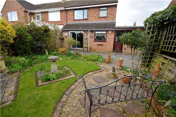 3 Bedrooms Semi Detached House for sale in Oval Approach, Frampton-On-Severn, GL2 7HY
