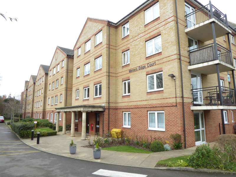 1 Bedroom Retirement Property for sale in Waters Edge Court, 1 Wharfside Close, Erith, Kent, DA8 1QW