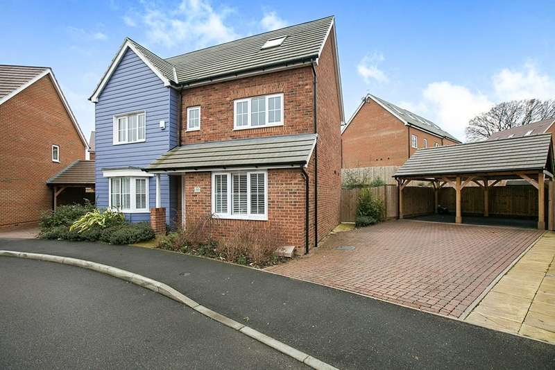 5 Bedrooms Detached House for sale in Chartwell Lane, Longfield, DA3