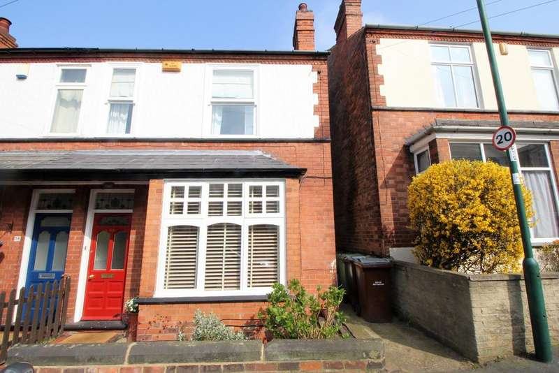 3 Bedrooms Semi Detached House for sale in Percival Road, Sherwood, Nottingham NG5