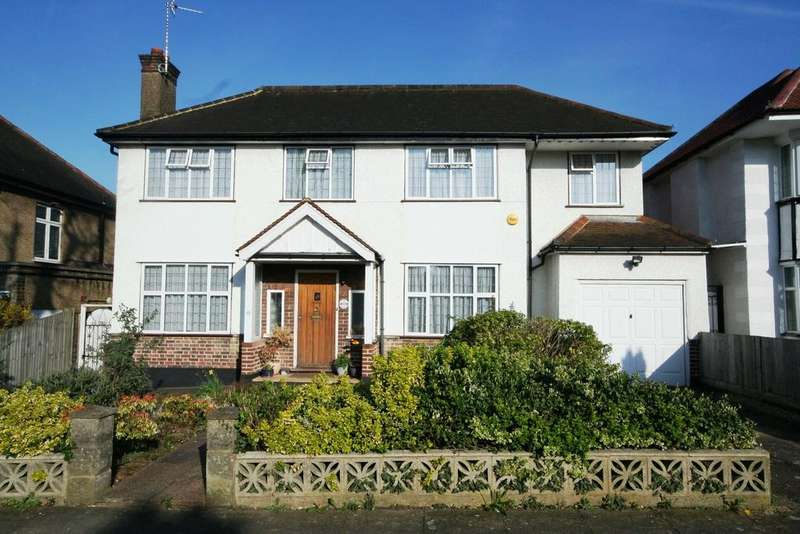 4 Bedrooms Detached House for sale in Woodhill Crescent, Kenton HA3