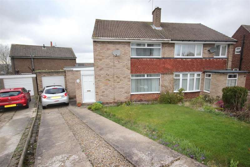 3 Bedrooms Semi Detached House for sale in Holyrood, Great Lumley, Chester Le Street
