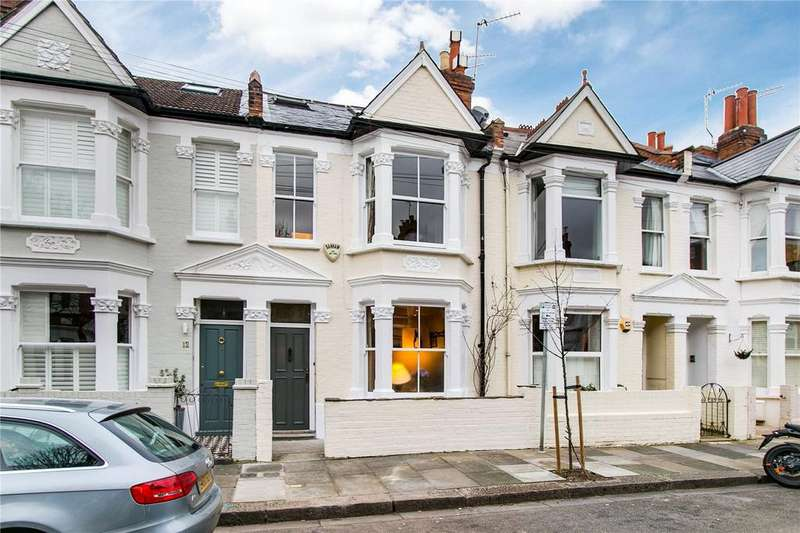 5 Bedrooms Terraced House for sale in Rowallan Road, Fulham, London