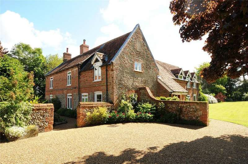 6 Bedrooms Detached House for sale in Edgefield, Near Holt, Norfolk