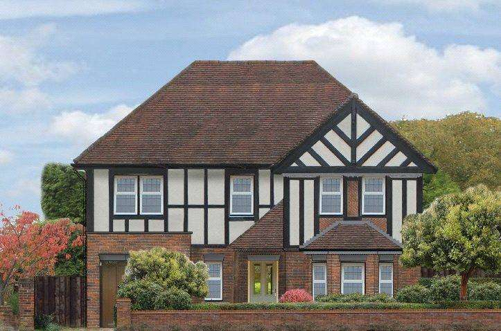 5 Bedrooms Detached House for sale in Sauncey Avenue, Harpenden, Hertfordshire
