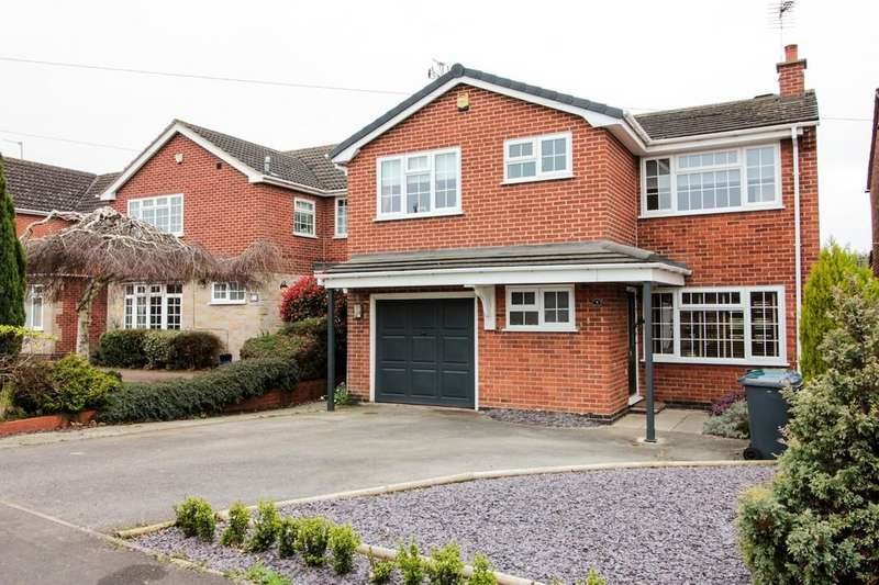 4 Bedrooms Detached House for sale in Bateman Road, East Leake