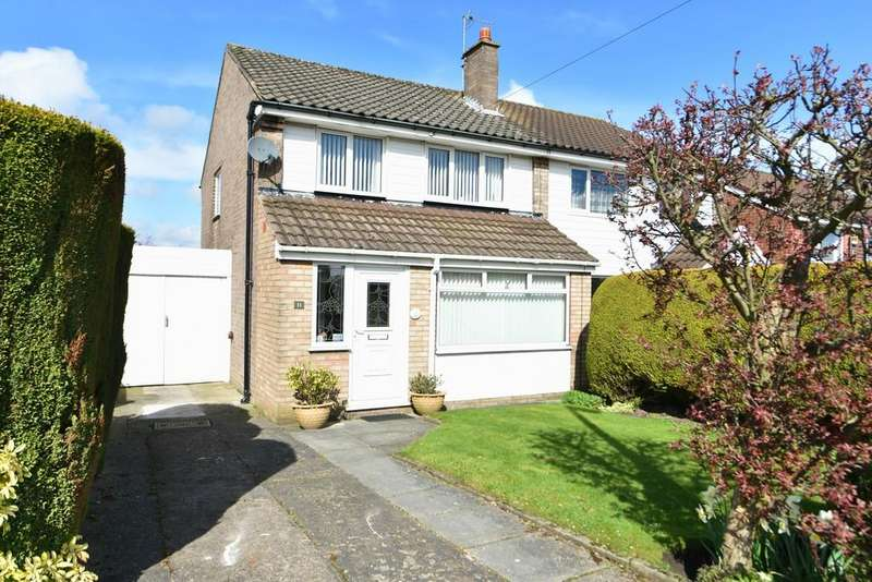 3 Bedrooms Semi Detached House for sale in Beechwood Drive, Ormskirk