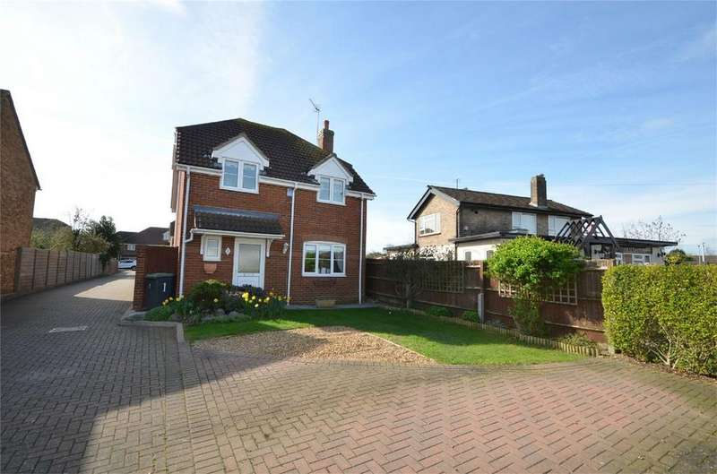 3 Bedrooms Detached House for sale in Hyde Close, SHEFFORD, Bedfordshire