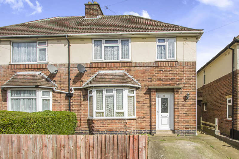 3 Bedrooms Semi Detached House for sale in Forest Drive, Sileby, LOUGHBOROUGH, LE12