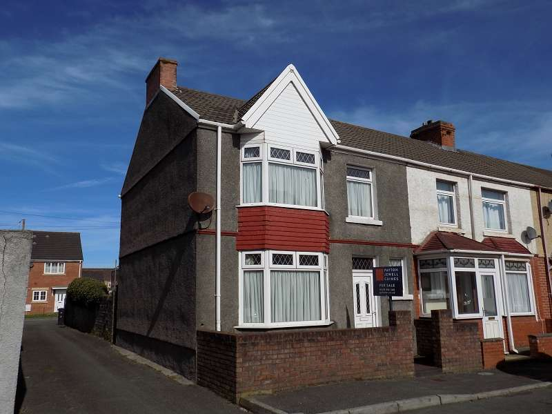 3 Bedrooms End Of Terrace House for sale in Maesgwyn Street, Port Talbot, Neath Port Talbot. SA12 6PF