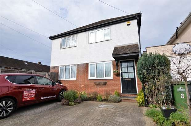 1 Bedroom Semi Detached House for sale in Hawthorne Avenue, Cheshunt, Waltham Cross, Hertfordshire