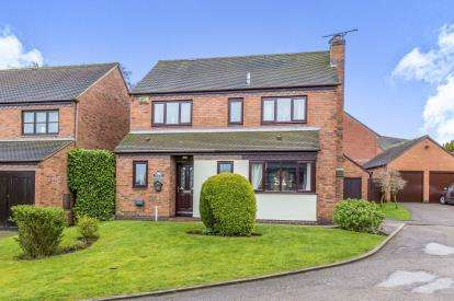 4 Bedrooms Detached House for sale in Church Farm, Ashley, Market Drayton, Staffordshire