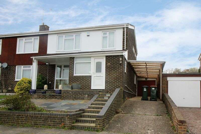 3 Bedrooms Semi Detached House for sale in Brantridge Road, Crawley