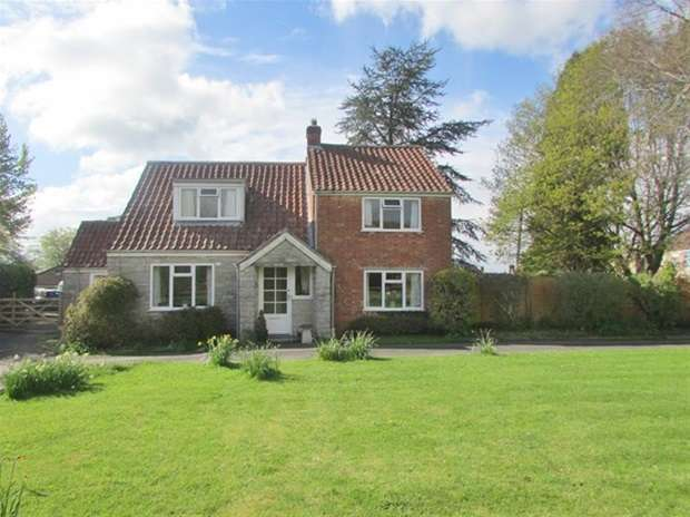 3 Bedrooms Detached House for sale in Newtown Lane, West Pennard, Glastonbury