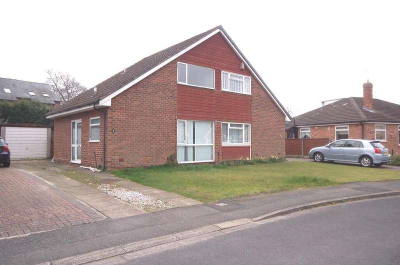 2 Bedrooms Semi Detached Bungalow for sale in Eastleigh Road, Heald Green, Cheadle, Cheshire SK8