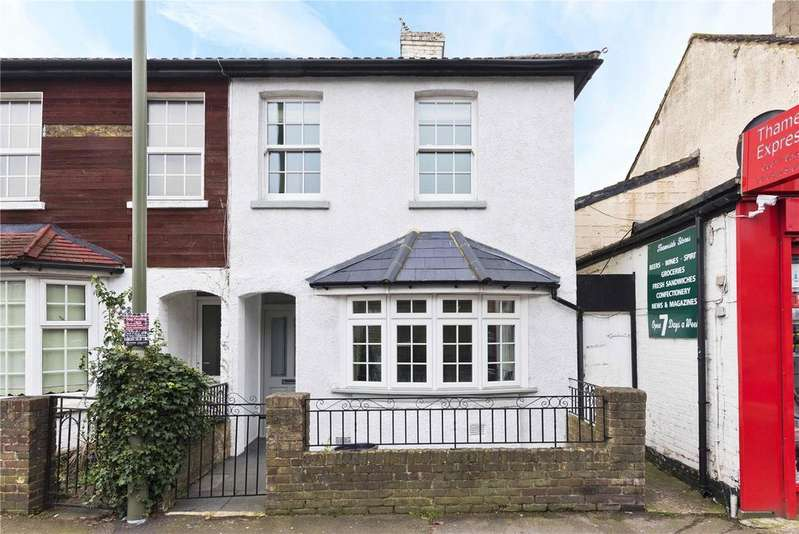2 Bedrooms Semi Detached House for sale in Thames Street, Weybridge, KT13