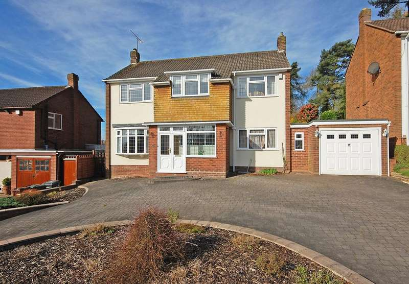 3 Bedrooms Detached House for sale in TORVALE ROAD, Wightwick, Wolverhampton WV6
