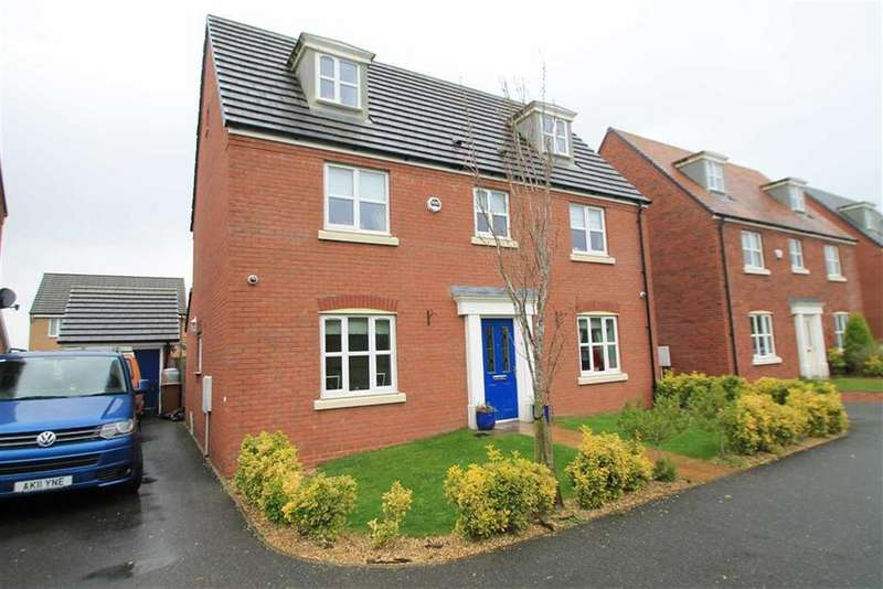 5 Bedrooms Detached House for sale in Wellman Avenue, Brymbo, Wrexham