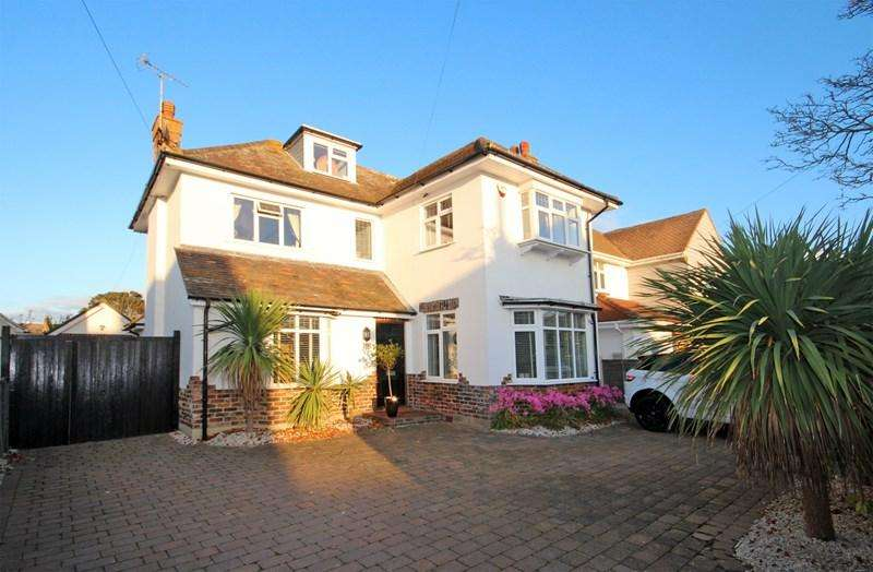 4 Bedrooms Detached House for sale in Harland Road, Hengistbury Head, Bournemouth