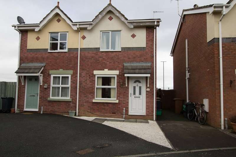 2 Bedrooms Semi Detached House for sale in 22 Lyne Close, Walney