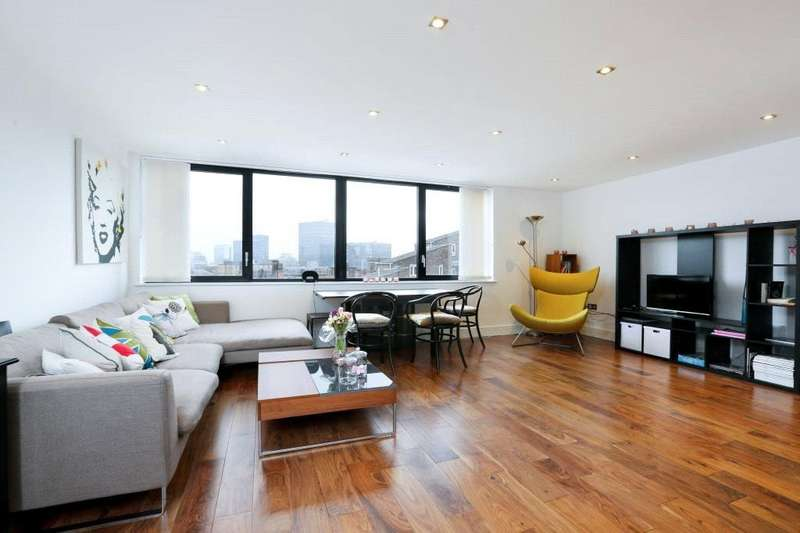 2 Bedrooms Flat for sale in Duke House, Hampstead Road, London, NW1