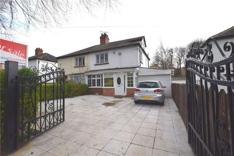 4 Bedrooms Semi Detached House for sale in Stainbeck Road, Leeds, West Yorkshire