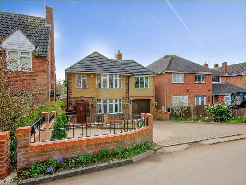 4 Bedrooms Detached House for sale in Back Street, Clophill, MK45