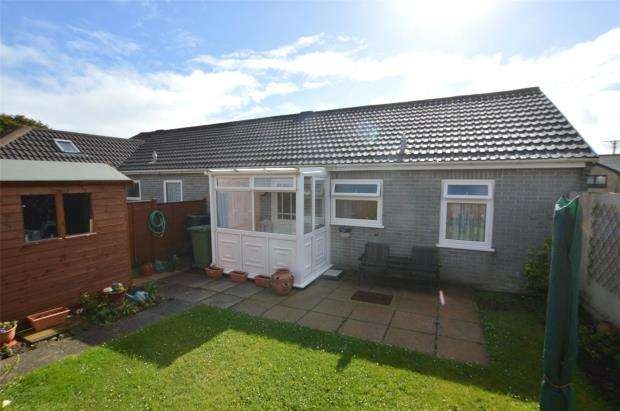 2 Bedrooms Semi Detached Bungalow for sale in Polwithen Drive, Carbis Bay, St. Ives, Cornwall