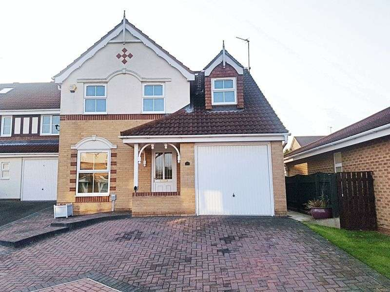 3 Bedrooms Detached House for sale in Tranby Park Meadows, Hessle