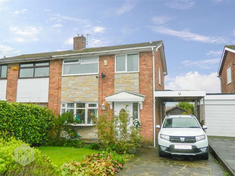 3 Bedrooms Semi Detached House for sale in Chiltern Drive, Tonge Fold, Bolton, Lancashire