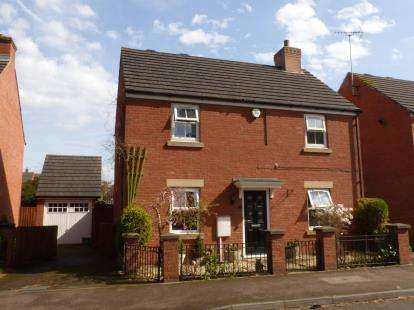 3 Bedrooms Detached House for sale in Dancers Hill, Abbeymead, Gloucester, Gloucestershire