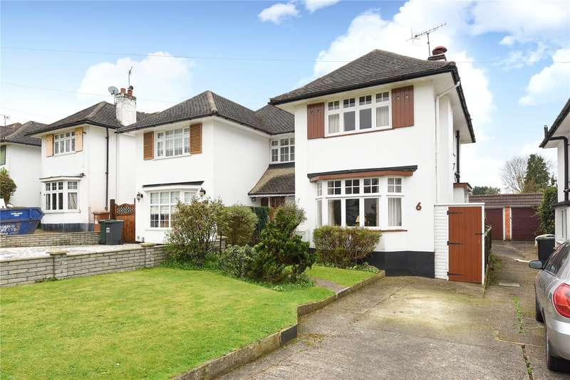 3 Bedrooms Semi Detached House for sale in Oaklands Avenue, Watford, Hertfordshire, WD19