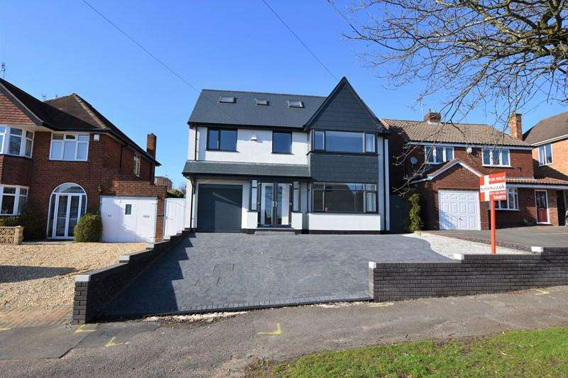 5 Bedrooms Detached House for sale in Manor Abbey Road, Halesowen