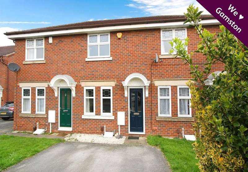2 Bedrooms Terraced House for sale in Rossett Close, Gamston, Nottingham, NG2