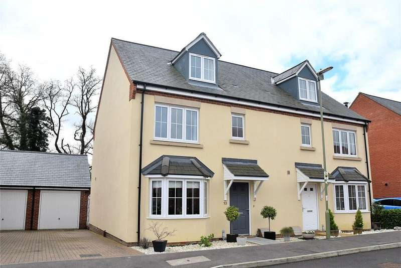 4 Bedrooms Semi Detached House for sale in Royal Gardens, Tadley, Hampshire, RG26