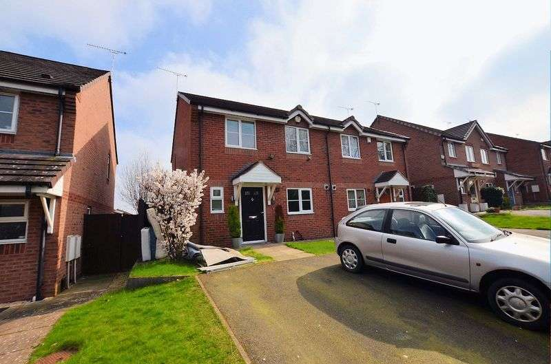 3 Bedrooms Semi Detached House for sale in Springslade, Harborne