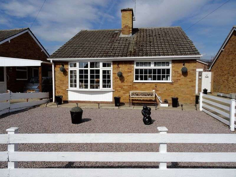 2 Bedrooms Detached Bungalow for sale in Chaucer Way, Spalding