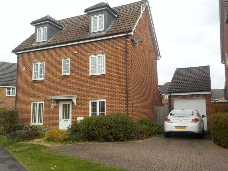 4 Bedrooms Detached House for sale in Jersey Drive, Wokingham