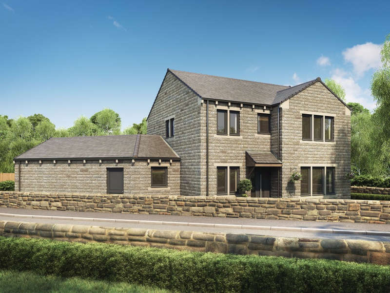 4 Bedrooms Detached House for sale in Plot 1 Pennine Gardens Upperthong Lane, Holmfirth, HD9