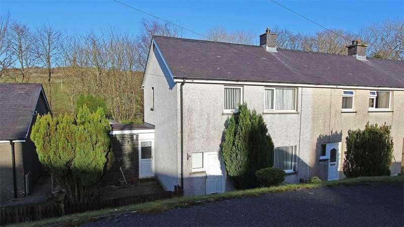 3 Bedrooms End Of Terrace House for sale in 3 Bro Islyn, Trawsfynydd, Gwynedd