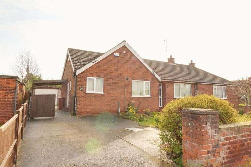 2 Bedrooms Semi Detached Bungalow for sale in Bowmandale, Barton-Upon-Humber
