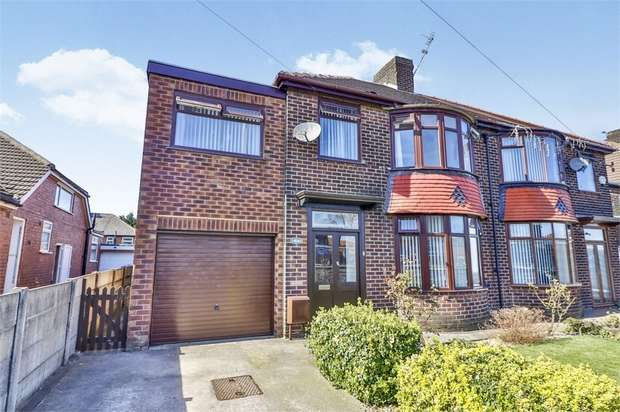 4 Bedrooms Semi Detached House for sale in Broadway, Chadderton, Oldham, Lancashire